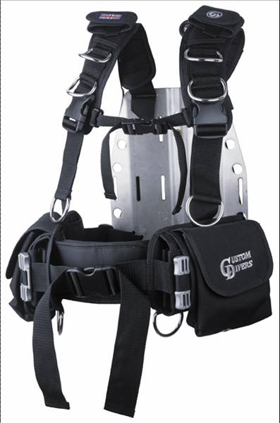 Sports Harness With Q Release Weight Pocket System
